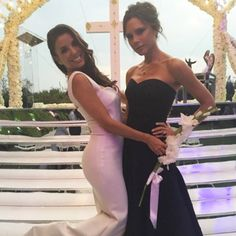 Eva Longoria Relaxes With BFF Victoria Beckham After Her Lavish Wedding — See the Cute Pic!