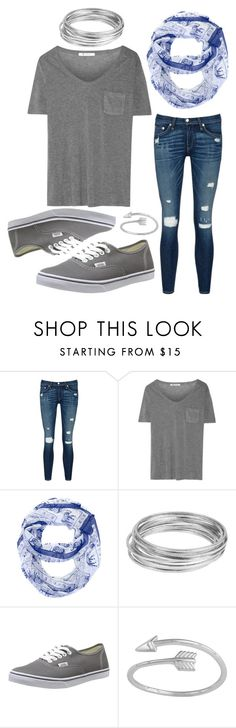 """""""Wednesday"""" by hcs72902 ❤ liked on Polyvore featuring rag & bone/JEAN, T By Alexander Wang, Worthington, Vans, women's clothing, women, female, woman, misses and juniors"""
