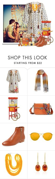 """Fall Carnival/Fair"" by majezy ❤ liked on Polyvore featuring Velvet by Graham & Spencer, Funtime, Valentino, Loeffler Randall, Linda Farrow, Eye Candy and Mallary Marks"