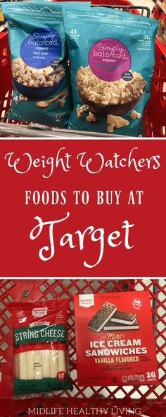 printable shopping lists have been a big hit so we've put together another one for you! Check out this Weight Watchers foods to buy from Target. This list is broken down by the popular brands at Target and categorized by Freestyle points in each servin Weight Watcher Desserts, Weight Watchers Snacks, Weight Watchers Tipps, Weight Watcher Dinners, Weight Watchers Smart Points, Weight Watchers Restaurant Points, Weight Watcher For Free, Weight Watchers Products, Weight Watchers Breakfast