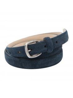 YAYA SS '16 I BLUE JEAN BABY I SUEDE BELT  #Blue #Leather #Belt #YAYASS16 #Bluejeanbaby #Finishingtouch #Accessories