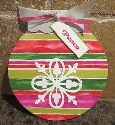 Ornament Card by Karen Ladd