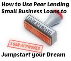 First in our small business funding process series! Learn how to get your idea off the ground with a peer loan and prepare for the next funding stage! #loans crowdfunding tips, crowdfunding campaigns #crowdsourcing #fundraising