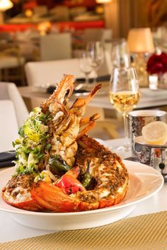 The Best Seafood On Strip Las Vegas Map Restaurants