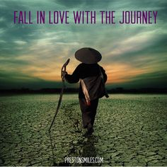 The destination will keep changing, so fall in love with the journey to it. That's where all the magic is in life. #lovesVoice