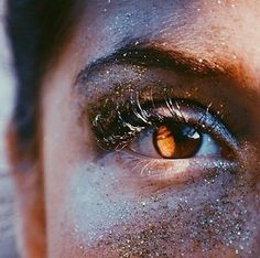 girl, brown, and eyes image