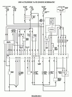 18+ Toyota 4Age Engine Wiring Diagram - Engine Diagram - Wiringg.net Types Of Electrical Wiring, Electrical Wiring Diagram, Corolla Toyota, Toyota Hilux, Toyota Land Cruiser, Electric Car Engine, Toyota Surf, Toyota Hybrid, Toyota Previa