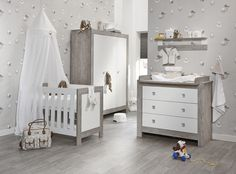 Ledikant - Commode 3 Laden Nordic Driftwood