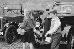 Children in 1940's clothing by Lazenby43, via Flickr