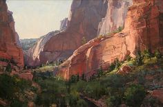 Sunrise at Kolob by Kathryn Stats - Greenhouse Gallery of Fine Art