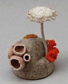 Прекрасное рядом: грибной мир Elin Thomas - Ярмарка Мастеров - ручная работа, handmade
