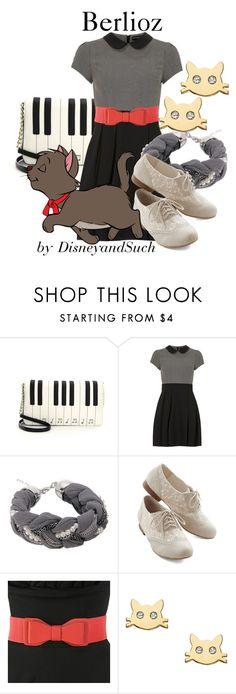 """Berlioz"" by disneyandsuch ❤ liked on Polyvore featuring Betsey Johnson, Dorothy Perkins, Disney, Serefina, disney, disneybound, thearistocats and WhereIsMySuperSuit"