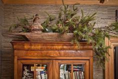 Haus Design: Design In Five: The Enchanted Home Decoration Christmas, Fall Decor, Holiday Decor, Christmas Greenery, Christmas Mantels, Christmas Design, Christmas Ideas, Country Decor, Rustic Decor