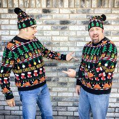 Turkey for Christmas Tacky Ugly Christmas Sweater