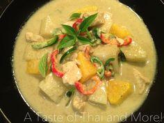 Thai Green Curry #thai #curry #tasty #spice