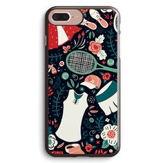 Tennis Style Apple iPhone 7 Plus Case Cover ISVD730