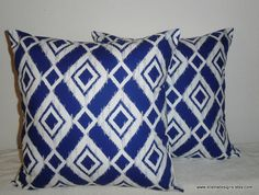 DecorativeAccentThrow PIllow CoversSet of Two 18 by EllensDesigns, $58.00
