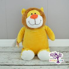 Lion Stuffed Animal Cubbie by WhimsicalWillowLLC on Etsy