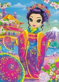 Kyoko, by Lisa Frank Art Kawaii, Lisa Frank Stickers, Human Drawing, Drawing Art, 90s Kids, Cute Art, Art Journals, My Little Pony, Bunt