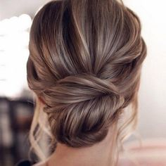 15 Stunning Low Bun Updo Wedding Hairstyles from Tonyastylist cla. - 15 Stunning Low Bun Updo Wedding Hairstyles from Tonyastylist classic updo wedding h - Wedding Hairstyles For Long Hair, Wedding Hair And Makeup, Long Hairstyles, Low Bun Wedding Hair, Hair Updos For Medium Hair, Loose Updo, Simple Wedding Updo, Long Bob Updo, Bridal Hair Half Up Medium
