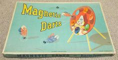 Vintage 1940's Chad Valley Magnetic Darts Game Darts Game, 1940s, Magnets, Games, Antiques, Vintage, Ebay, Antiquities, Antique