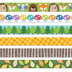 Bring a touch of the forest to your bulletin board!