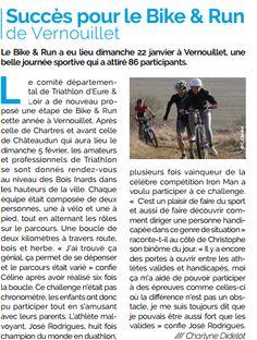 26/01/2017 MtaVille retour sur le #Bike&Run de #Vernouillet