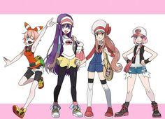 The Dokis as pokemon trainers Makeup For White Dress, Pokemon Crossover, Oki Doki, Cute Games, World Of Books, Literature Club, Cartoon Art Styles, Play, Kawaii Anime