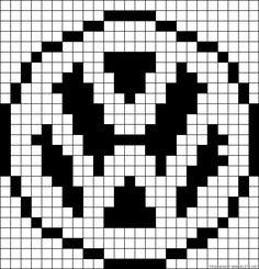Volkswagen perler bead pattern
