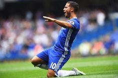 Eden Hazard ~ Chelsea FC vs. Burnley 8/27/2016