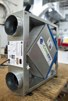 Six Steps to Success With Heat-Recovery Ventilation - GreenBuildingAdvisor Heat Recovery Ventilation, Ventilation System, Whole House Ventilation, Hvac Ductwork, Hvac Air Conditioning, Passive Solar Homes, Heating And Plumbing, Balustrades, Geothermal Energy