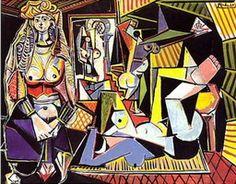 """Pablo Picasso. Women of Algiers, version """"O"""" (Les femmes d`Alger), 1955"""