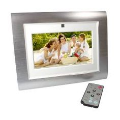 Digital Photo Frame with 7-inch LCD – custom branded with a logo – $69.99.