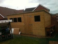 PENT SHED 12X10 ****FREE DELIVERY & ERECTION****