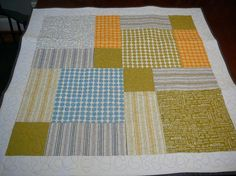 Sweetwater Block Quilt Make Life Simple Fabric by by shancee