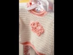 How To Crochet A Baby Sweater: Baby & Toddler Size - YouTube