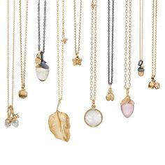 Beautiful pendants from OLE LYNGGAARD COPENHAGEN