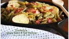 Melissa's Southern Style Kitchen: Homestyle Green Beans & Red Potatoes