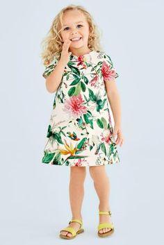 Kaufen Sie Tropisches Kleid in A-Linie (3 Monate – 6 Jahre) heute online bei Next: Deutschland