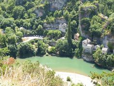 Castelbouc, Gorges de Tarn pres'que le village de Saint Eminie, Lozere, dept 48. Centre de kayak et canoeing. Merci  thanks to Jean-Yves Fort for the correction.