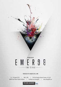 Emerge98 The One Academy Final Project Studio Exhibition