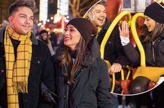 Nicole Scherzinger and Matt Terry cosy up to each other ahead of X Factor semi-final