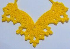 crochet lace flower pattern free | Free Ruffled Necklace Crochet Pattern – Orble