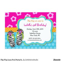 pool party birthday invitation em portugues - Pesquisa Google