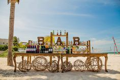 Destination Wedding Decor, Marquee Letters, Real Weddings, Caribbean, New York Skyline, Wedding Decorations, Mexican, Rustic, Travel