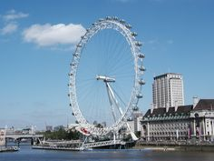 The London Eye. I never actually got to ride this attraction, but it's become such a recognizable landmark of London!