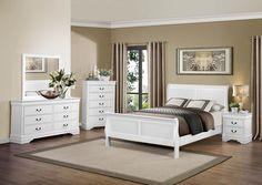 """7Pc Louis Phillip Black """"queen"""" Bedroom Set~Furniture~Local Pick Amusing Black Queen Bedroom Sets Inspiration"""