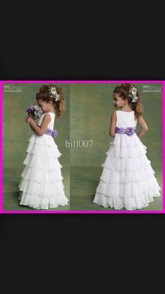 Flower girl dress-