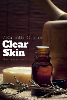 7 Essential Oils for Clear Skin (+ I'm giving away diffusers)   Shalom Mama
