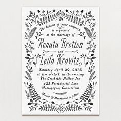 Printable Press Invitations